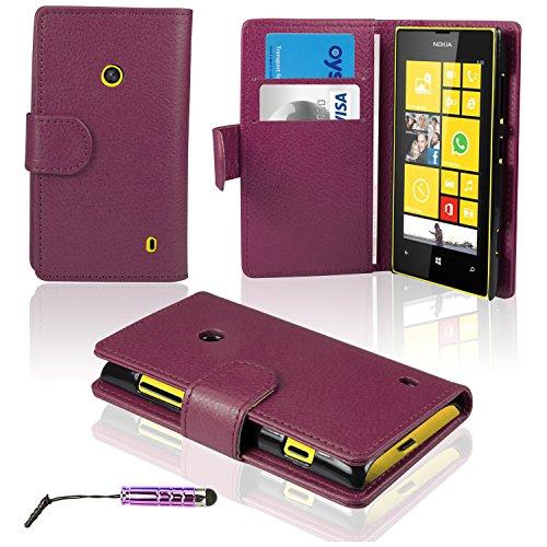 savfyr-pu-cuero-carcasa-funda-para-nokia-lumia-520-case-protector-de-pantalla-lapiz-optico-rosado