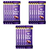 #8: Cadbury Dairy Milk Maha Pack, 52g (Pack of 15)