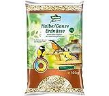 Dehner Natura Wildvogelfutter, halbe/ganze Erdnusskerne, 10 kg