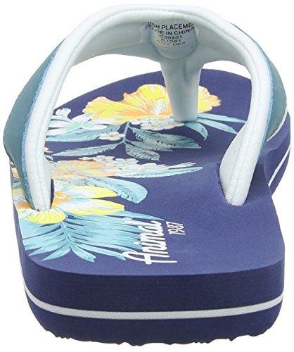 Animal - Swish Placement, Sandali Donna Blu (Sea Blue)
