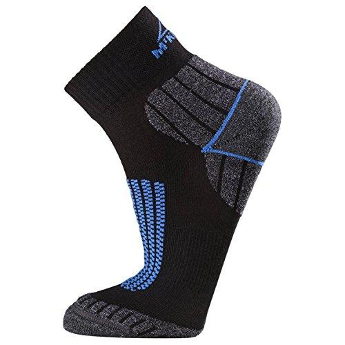 McKinley calze Dio Ardo, Unisex, Socken Gottardo, Black/Blue Royal, 45-47