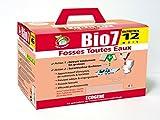 Bio7 speciale agente di trattamento delle fosse settiche per tutti i tipi di acqua, 24 bustine