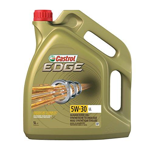 CASTROL 15669E EDGE Motoröl, Titanium, FST 5W-30 LL, 5L + MANN FILTER CUK 2882 Innenraumfilter