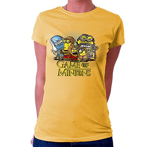 Game Of Thrones Minions Women's T-Shirt Gold