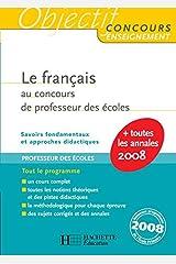Le français au concours de professeur des écoles - CRPE Broché