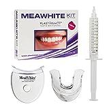 SBIANCANTE DENTI con 0% PEROSSIDO - Kit MeaWhite sbiancante denti, un sorriso perfetto come dal dentista! immagine