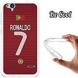 Becool® - Funda Gel Flexible para ZTE Blade S6 Flex, Carcasa TPU fabricada con la mejor Silicona, protege y se adapta a la perfección a tu Smartphone y con nuestro exclusivo diseño. Ronaldo