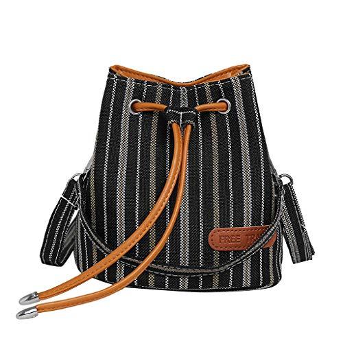 Mitlfuny handbemalte Ledertasche, Schultertasche, Geschenk, Handgefertigte Tasche,Damenmode Beuteltasche gestreifte Umhängetasche Wild Messenger Bag Casual (Kostüm Adult Hit-girl)