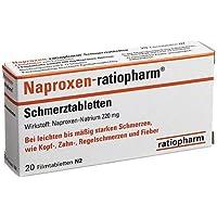 Naproxen-ratiopharm® Schmerztabletten preisvergleich bei billige-tabletten.eu