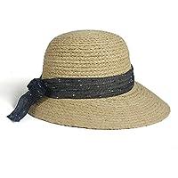 Simplicidad Unisex Café Sombrero de vaquero sombrero de playa sombrero de  paja 63bceca9981