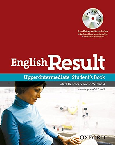 English Result Upper-Intermediate. Student's Book DVD Pack