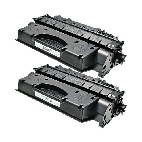 Preisvergleich Produktbild 2 Toner für Canon LBP251dw, LBP252dw, LBP253x, LBP-6300dn, LBP-6650, I-Sensys LBP-6300, LBP-9950, MF5840, MF5940, MF6140 - Schwarz je 2.100 Seiten