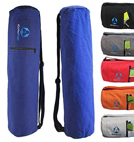 Sac de yoga »Mangala« / Sac de yoga yogabag pour matelas de yoga jusqu'à : 190 x 65 cm / disponible dans différentes couleurs tendance.
