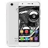 "Oukitel K7000 Smartphone 4G Android 6.0 ( MTK6737 Quad Core 1.3GHz 2GB RAM 16GB ROM, 5.0"" IPS Schermo, Dual Camaras 2MP+ 5MP, Impronte Digitali, Telaio in Lega di Alluminio"