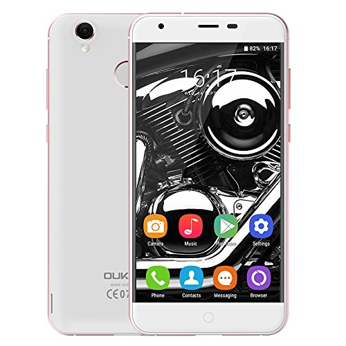 "Oukitel K7000 4G Smartphone MTK6737 Quad Core 1.3GHz 2GB RAM 16GB ROM Android 6.0 OS 5.0"" IPS 2MP 5MP Empreintes Digitales Aluminium Alloy Frame Notification LED sur Bouton"" Home """
