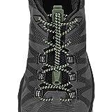 Nathan Reflektierende, elastische Schnürsenkel für Laufen und aktive Sportarten, Herren, Bronzegrün