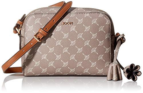 Joop! Damen Cortina Cloe Shoulderbag Shz Schultertasche, Beige (Fungi), 6x15x21 cm (Handtasche Tasche Schulter-stil)