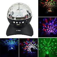 Mini disco con DJ Etapa luz LED RGD Cristal wechselnden Special Effects iluminación, AUX Input TF Card Player y inalámbrica Bluetooth altavoz MP3para (KTV, fiestas de navidad,, Clubes, bares, discotecas)