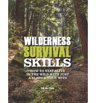 Wilderness Survival Skills: How to Survive in the Wild with Just a Blade & Your Wits (Hardback) - Common