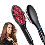 Best GENERIC Flat Irons For Hairs - Simply Straight Hair Straightner (Brush Style) Review