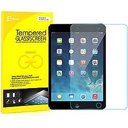 iPad Mini Protector de Pantalla, JETech Vidrio Templado Protector de Pantalla Defensa Membrana para Apple iPad Mini 1/2/3 Todos los Modelos - 0336