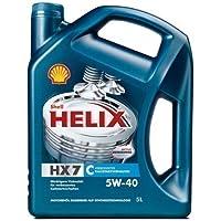 Shell 1250001 Motoröle HX 7 5W40, 5 Liter