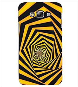 PrintDhaba Pattern D-5294 Back Case Cover for SAMSUNG GALAXY A7 (Multi-Coloured)