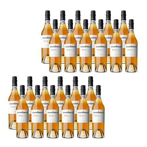Portwein Churchills Dry White 500ml - Dessertwein - 24 Flaschen