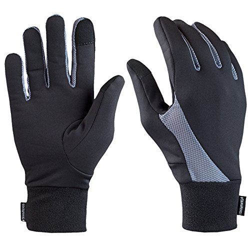 trailheads elementos Running guantes–negro (pequeña)