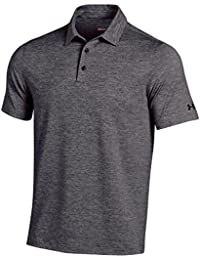 Under Armour Polo eleva Ted Heather Stripes, Homme, Blue (413)