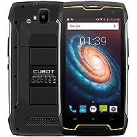 Cubot Kingkong-Smartphone IP68 Waterproof a Prueba de Polvo a Prueba de Golpes MT6580 Quad Core 5.0 Pantalla 4400mAh Batería Android 7.0 Cellular 2G RAM + 16G ROM, Cámara de 8.0MP + 13MP, Dual SIM, Soporte doble Standby Wifi GPS-Negro