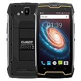 "CUBOT Kingkong Smartphone IP68 Waterproof a Prueba de Polvo a Prueba de Golpes MT6580 Quad Core Pantalla 5"" Batería 4400mAh Android 7.0 2G RAM 16G ROM Cámara de 8MP 13MP Dual SIM, WiFi GPS - Negro"