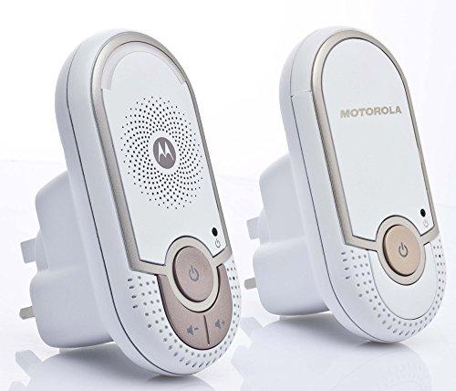 Motorola MBP 8 Babyphone, Digitales Wireless Babyfon, Mit Nachtlicht und DECT-Technologie, Zur Audio-Überwachung, Weiß - 10