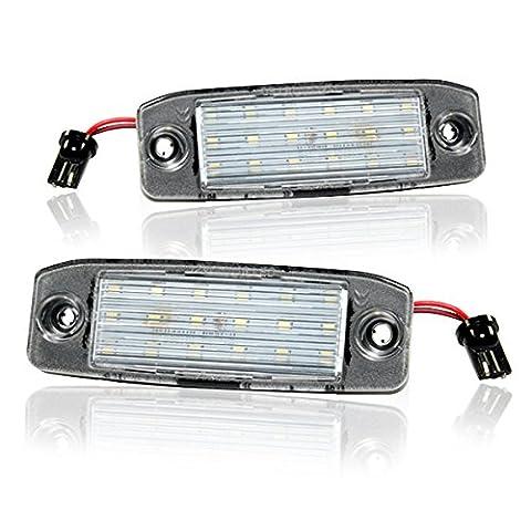 LED Kennzeichenbeleuchtung Kia Sportage SL Module mit Zulassung