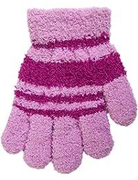Warme Handschuhe aus Plüsch, Größe 4, Alter 6-8 Jahre, Handumfang 14 und 16 cm, verschiedene Farben