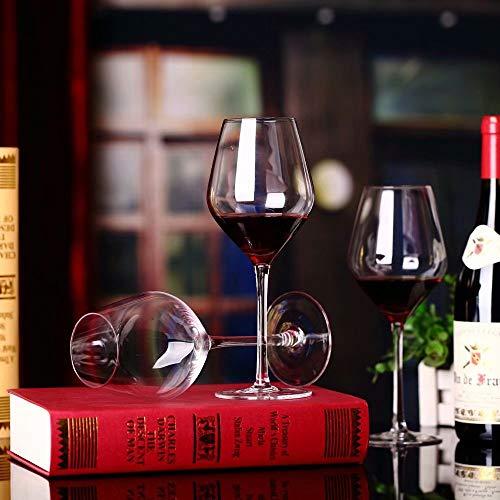 hsy Mundgeblasene Stilvolle und Hochwertige Burgunder-Weingläser 8er-Set Geeignet für Verschiedene Verwendungszwecke: Pinot Noir, Gamay, Zweigelt, St. Laurent usw. Rotweinglas