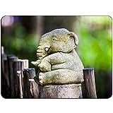Elefant-Buddha-Mousepad - kein Beleg-Mauspad