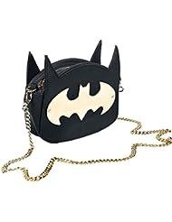 Batman Logo Bolso Negro