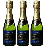 Champagne Nicolas Feuillatte Brut Réserve (3 x 0.2 l)