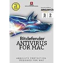 BitDefender Antivirus for Mac Latest Version - 3 Users, 2 Years (Voucher)