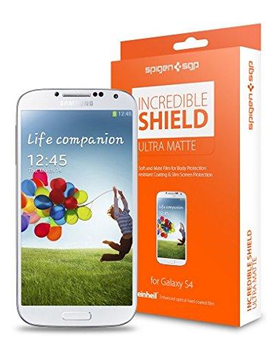 SPIGEN SGP Screen Body Protector Incredible Shield for Samsung Galaxy S4 U Matte
