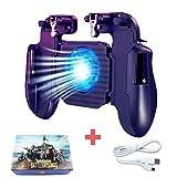 BESTZY PUBG Mobile Game Controller [con Ventilador de Enfriamiento] - Mando Joystick Movil Gamepad...
