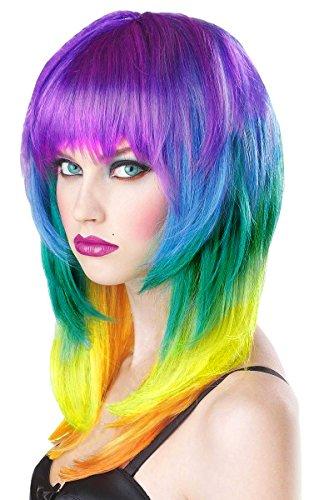 Imstyle® Perruque synthétique à 5 couleurs
