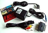 Original SNES Super Nintendo Netzteil (gebr.) + Chinch Cinch TV Av Kabel für SNES + Scart Adapter NEU