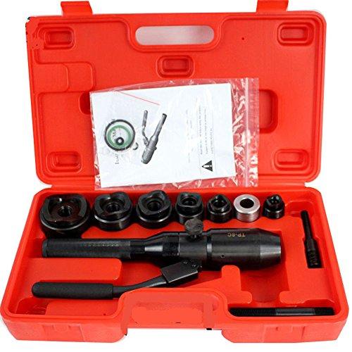 Newtry tp-8C idraulico hole Opener per morbido in lamiera di acciaio punzonatura in lega di alluminio armadio di distribuzione contenitore di interruttore manuale punzonatura