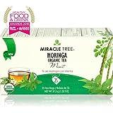 Miracle Tree Moringa Organic Tea - Mint 25 Tea Bags (Pack of 2 - 50 Bags)