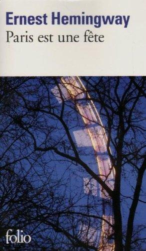 Paris Est Une Fete (Folio) par Ernes Hemingway