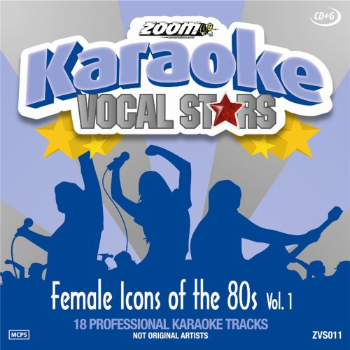 Karaoke Soft-rock, (Karaoke Cdg Female Icons of the 80s V-1)