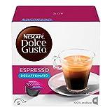 NESCAFÉ Dolce Gusto Espresso Decaffeinato 16 Capsules 96 g
