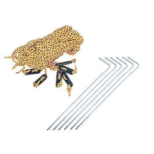 Sonnensegel für Wohnwagen & Wohnmobil grau 3,50 x 2,4 , für Kederleisten 7 mm,Wassersäule 2000 mm - 3